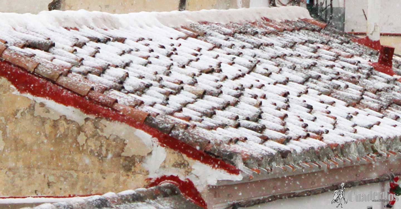 La nieve ha llegado a Tomelloso