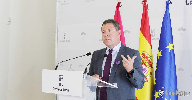 García-Page anuncia que a partir del 20 de septiembre ningún médico de Atención Primaria tendrá más de 2.000 tarjetas sanitarias
