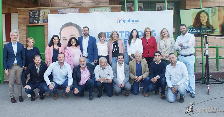 """""""No se van a votar coaliciones, sino a dos modelos de gobierno"""", palabras de Javier Navarro, candidato a la alcaldía de Tomelloso por el Partido Popular."""