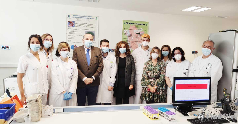 El Hospital de Tomelloso ya dispone de un equipo nuevo de diagnóstico del coronavirus