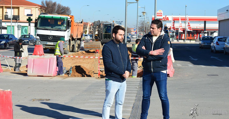 La quinta fase de remodelación de la Avenida Juan Carlos I de Tomelloso ya está en marcha