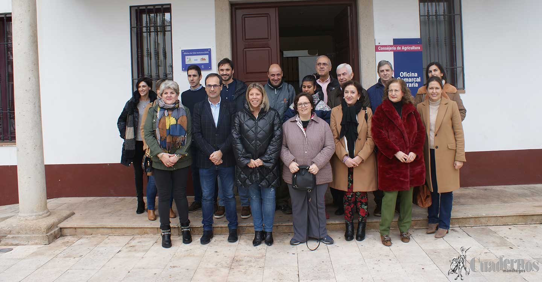 """Inauguración en Tomelloso de la """"Oficina de Vida Inclusiva"""" en la Casa del Agricultor que proyectará un importante servicio a las personas discapacitadas y que supone la segunda oficina en España de este tipo"""