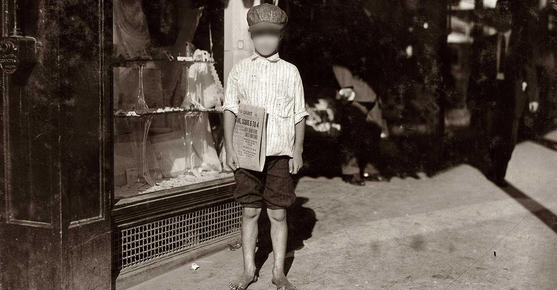Oficios perdidos : 'Vendedor callejero de periódicos'