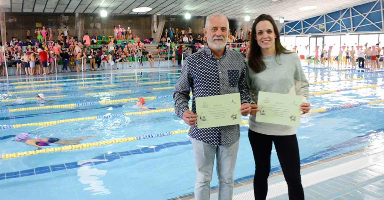 460 alumnos de los centros educativos de Tomelloso participaron en la Olimpiada Escolar de natación