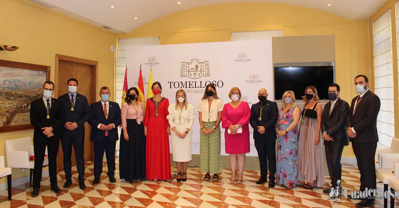 Olmedo felicitó al Ayuntamiento y a los vecinos de Tomelloso por haber celebrado con éxito de sus ferias y fiestas con absoluto respeto a las medidas de prevención