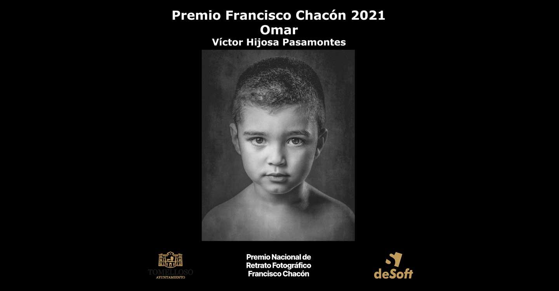 """La obra """"Omar"""" de Víctor Hijosa ganadora del Premio Nacional de Retrato Fotográfico Francisco Chacón"""