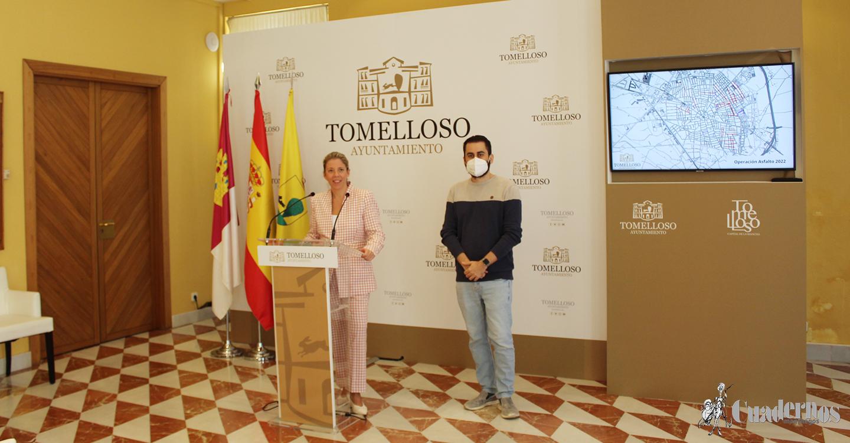 La alcaldesa de Tomelloso avanza que la importante Operación Asfalto 2021, en la que se invertirá un millón de euros, incluirá 37 calles de la ciudad