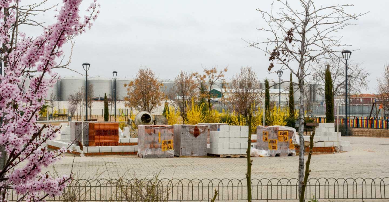 El parque Virgen de las Viñas de Tomelloso contará con un escenario para la realización de actividades