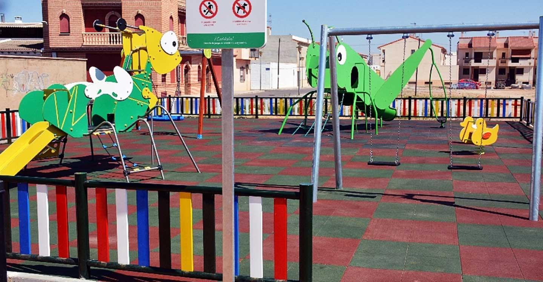 A partir del próximo lunes se realizará la apertura de los parques y zonas infantiles de Tomelloso