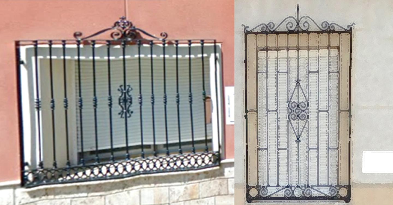 Paseando por Tomelloso (29) : Las rejas de las ventanas (6)