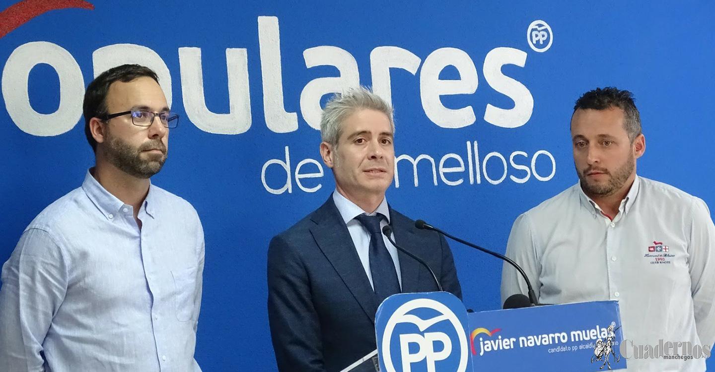 Pedro García y Jesús Perona, nuevos candidatos del PP de Tomelloso