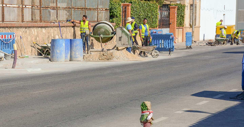 """El Plan de Empleo """"Zonas Rurales"""" incluye una nueva fase en la avenida Virgen de las Viñas de Tomelloso"""