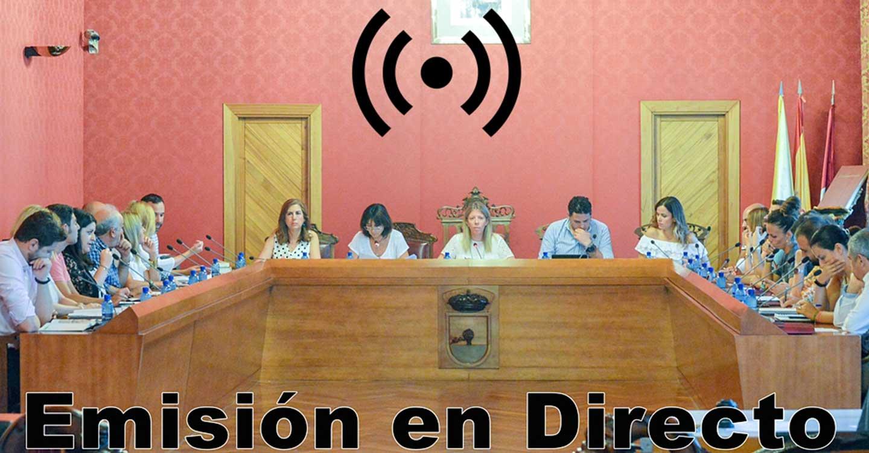 Sesión Ordinaria del Ayuntamiento Pleno, este miércoles 21 de octubre, a las 20:00 horas