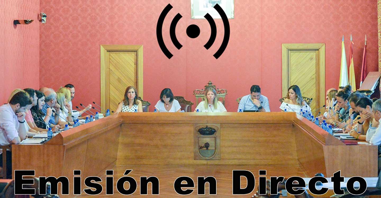 Sesión Ordinaria del Ayuntamiento de Tomelloso con Pleno este miércoles 28 de julio a las 17:00 horas