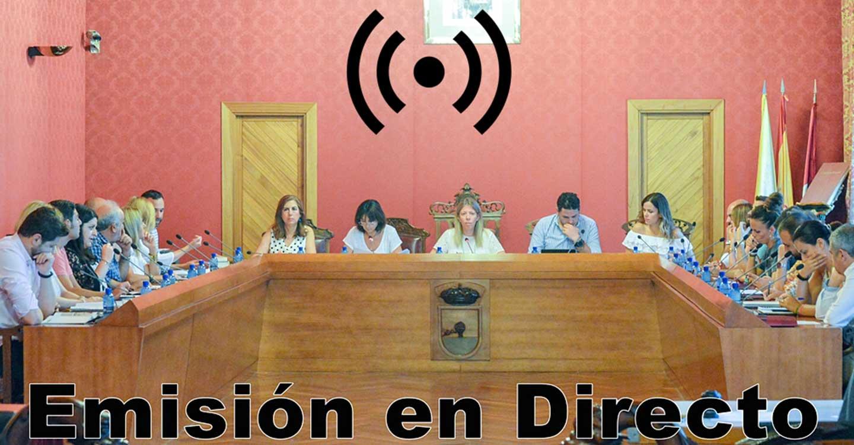 Sesión Extraordinaria del Ayuntamiento de Tomelloso. Pleno, hoy miércoles 31 de marzo a las 17´00 horas