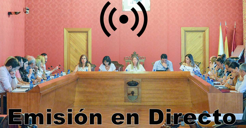 Sesión Ordinaria del Ayuntamiento Pleno, este miércoles 18 de noviembre, a las 20:00 horas