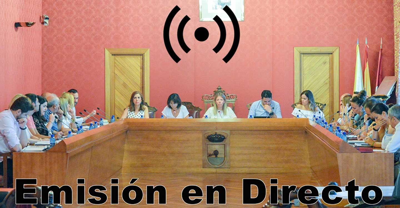 Sesión Ordinaria del Ayuntamiento Pleno, este miércoles 30 de junio, a las 17:00 horas