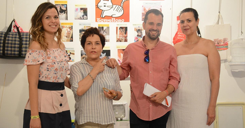 La Posada de los Portales acoge hasta el domingo un rastrillo solidario a beneficio de SOS Gatos