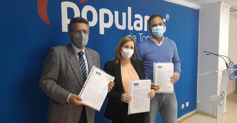 El PP califica de éxito la campaña de recogida de firmas para la petición de la instalación de la UCI en el Hospital de Tomelloso