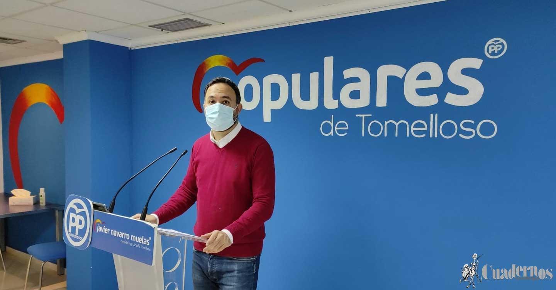 """Javier Navarro : """"Tenemos un equipo de gobierno desgastado que va dando bandazos y que va aplicando el rodillo en su mayoría absoluta"""""""