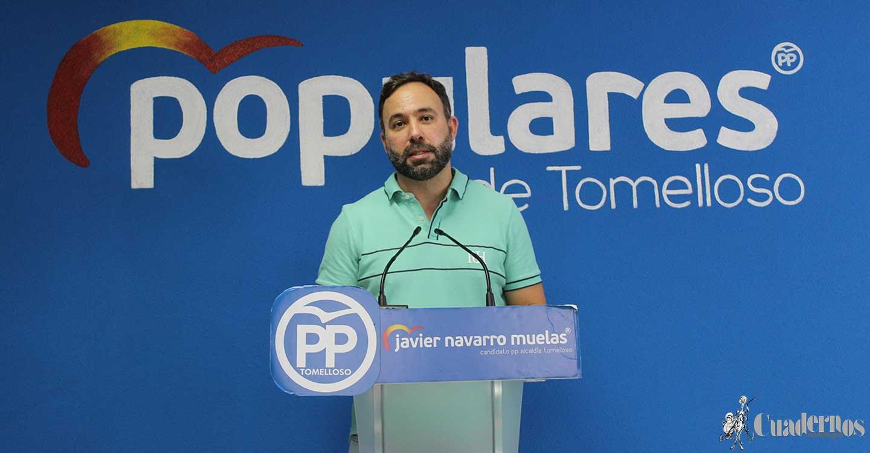 El PP de Tomelloso lamenta que Inmaculada Jiménez se esconda y no de la cara ante los problemas del Barrio San Juan y de la situación actual del Hospital General de Tomelloso