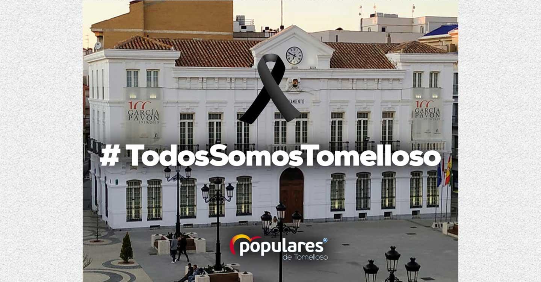 El PP de Tomelloso propone que se declare luto oficial con crespón negro en el Ayuntamiento de Tomelloso en señal de duelo por los vecinos fallecidos por coronavirus