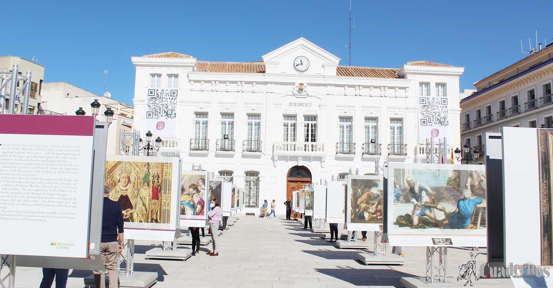 """La exposición """"El Prado en las calles"""" bate el récord de visitantes en Tomelloso"""