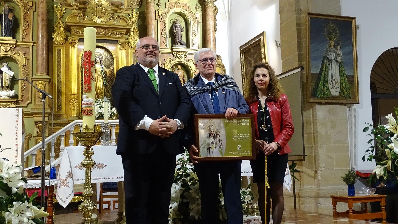 """Miguel Ángel Jiménez Salinas: """"El amor del pueblo de Tomelloso por su patrona supone superar cualquier dificultad"""""""