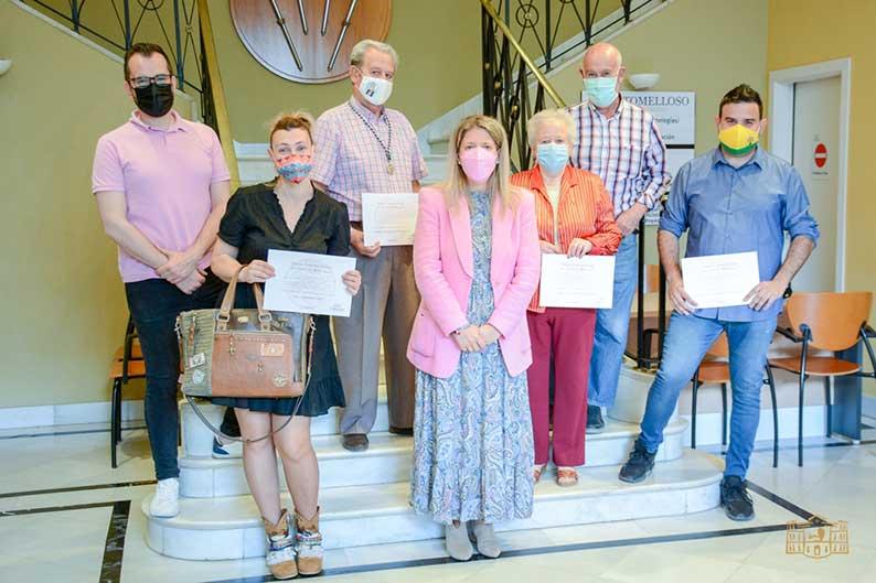 Entregados los premios del I Concurso Local de Cruces de Mayo