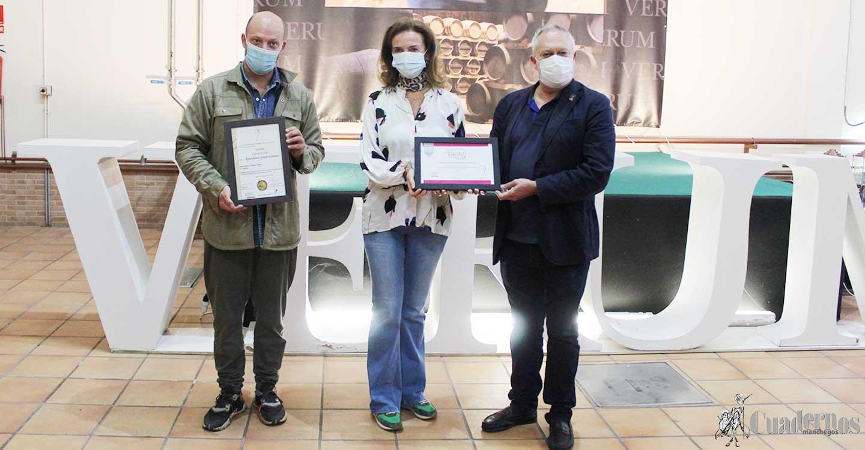 Bodegas Verum recoge en Tomelloso el premio Tácito 2020 a la labor que desarrolla en torno a la Cultura y el Vino