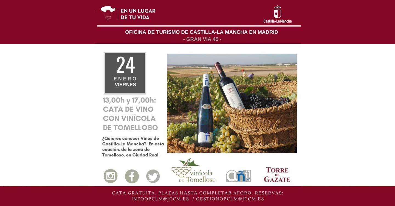 Presentación vinos de Vinícola de Tomelloso en Madrid
