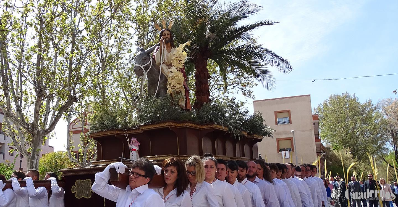 Comienza la Semana Santa en Tomelloso con la procesión de la Borriquilla en este Domingo de Ramos