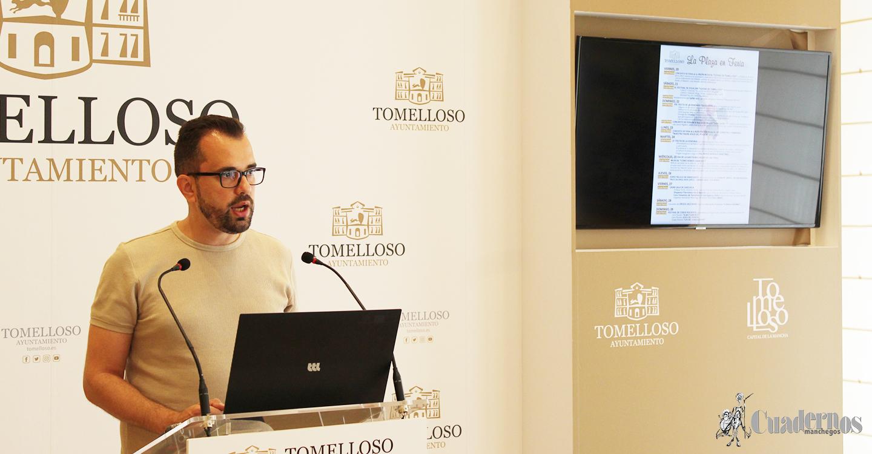 """Presentada la programación de """"La Plaza en Feria"""" y las actividades infantiles y juveniles en la localidad de Tomelloso"""