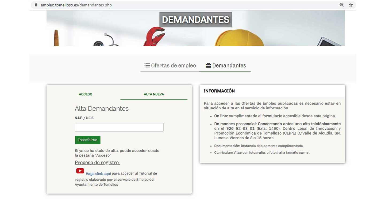 Promoción Económica renueva la aplicación gestora del Servicio de Información para el Empleo del CLIPE en Tomelloso