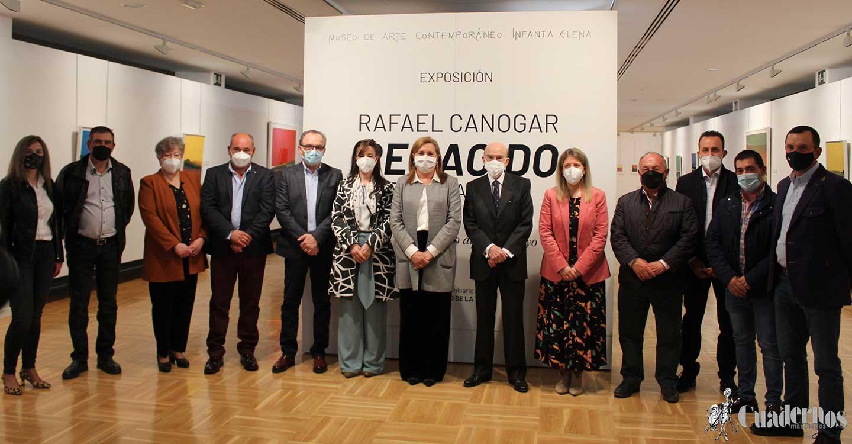 """La exposición """"Renacido"""" de Rafael Canogar ya brilla en el Museo Infanta Elena de la Cooperativa Virgen de las Viñas"""