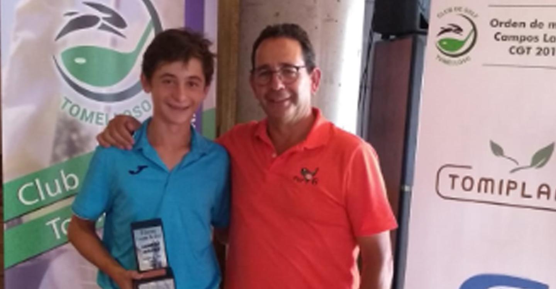 Raúl Aliaga jugador del CG Tomelloso gana en Layos en la modalidad de Scratch