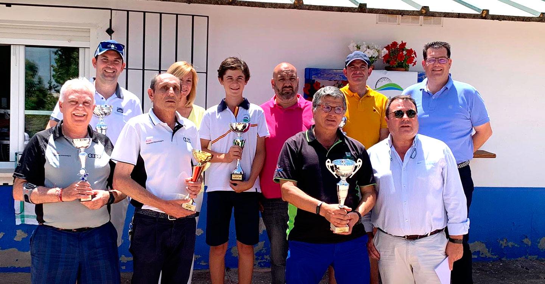 Raúl Aliaga jugador del CG Tomelloso ganador del Torneo Diputación de Ciudad Real
