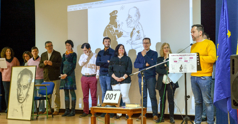 Raúl Zatón participa en la lectura continuada del García Pavón con motivo del Día del Libro