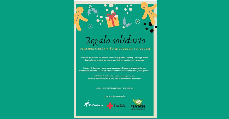 """""""Regalo solidario"""", una iniciativa para enviar cariño a los niños más vulnerables."""