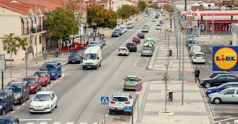 350.000 euros será la inversión realizada para finalizar la remodelación de la Avenida Juan Carlos I del municipio de Tomelloso