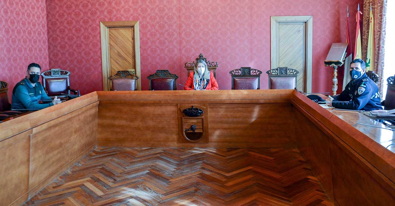 Celebrada una nueva reunión de coordinación entre Ayuntamiento de Tomelloso, Policía Local y Guardia Civil