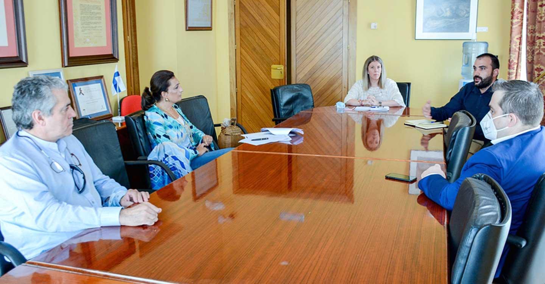 La alcaldesa de Tomelloso, Inmaculada Jiménez, se reúne con la Asociación de Hosteleros de la provincia de Ciudad Real
