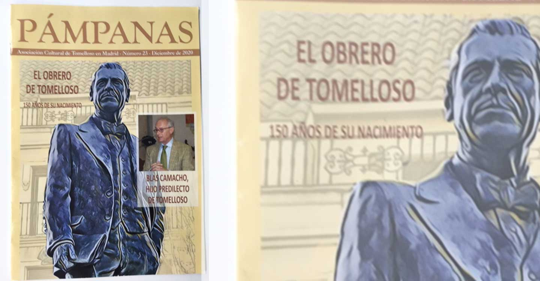 Por fin la edición nº 23 de la revista Pámpanas será presentada en Tomelloso el próximo sábado, día 16