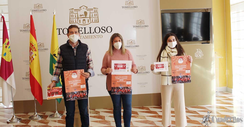 El club Pieles Run presentan en Tomelloso su San Silvestre virtual que se celebrará los días 30 y 31 de diciembre