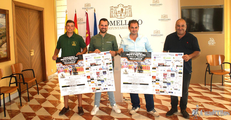 """Ante el éxito conseguido en el año anterior se presenta el II Concurso Nacional de Arrastre de Piedra con Mula """"Ciudad de Tomelloso"""", que tendrá lugar el próximo sábado 10 de agosto en la Plaza de Toros."""