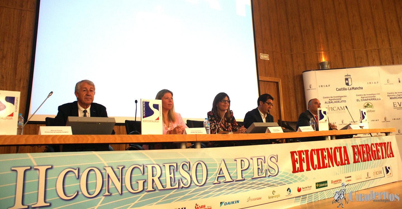 II Congreso APES de Eficiencia Energética donde se trata de concienciar sobre la necesidad de la utilización de energías renovables que disminuyan el efecto contaminante de nuestros territorios.