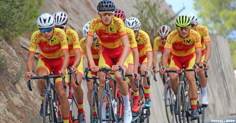 La Selección Española junior masculina de ciclismo se preparará en Tomelloso con la vista puesta en la Copa de las Naciones