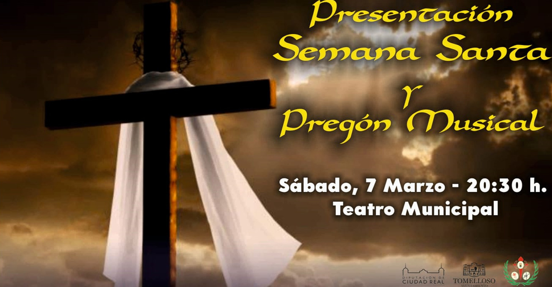 La Semana Santa de Tomelloso se presentará el 7 de marzo con un pregón musical de la Asociación Musical Santa Cecilia de Tomelloso