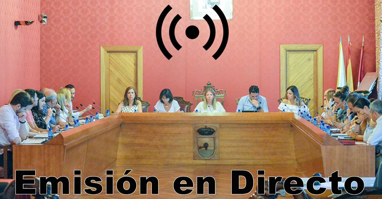 Sesión Extraordinaria del Ayuntamiento Pleno, hoy lunes 30 de noviembre, a las 08´30 horas