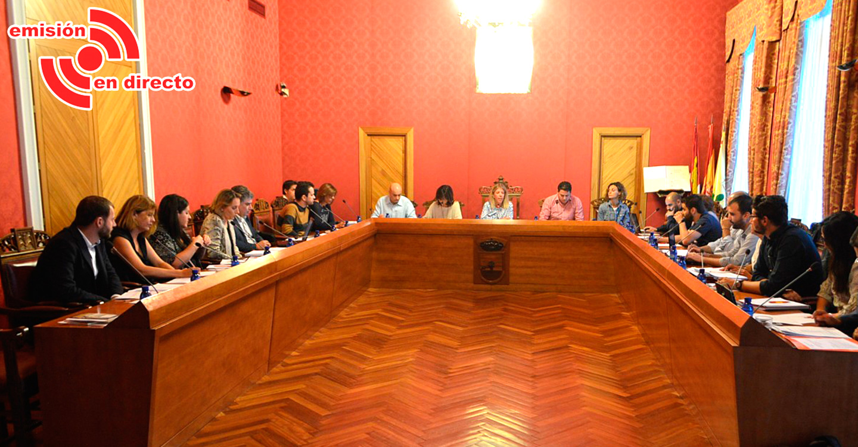 Sesión Ordinaria del Ayuntamiento de Tomelloso, Pleno, hoy miércoles 18 de septiembre, a las 20:00 horas